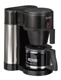 BUNN NHBB Velocity Brew 10-Cup Home Coffee Brewer, Black Best Espresso, Espresso Maker, Espresso Machine, Espresso Coffee, Black Coffee, Best Coffee Maker, Drip Coffee Maker, Coffee Cups, Coffee Talk