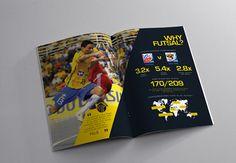 USA Futsal brochure by Jonathan Quintin, via Behance