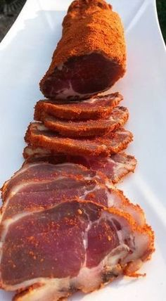 Really nice ! To do absolutely for your guests for your next guest Dutch Recipes, Meat Recipes, Cooking Recipes, Fish And Meat, My Best Recipe, Mediterranean Recipes, Churros, Chorizo, Food Photo