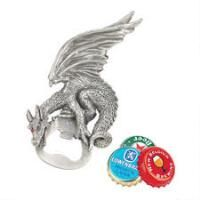 Grip the Dragon Pewter Gothic Bottle Opener
