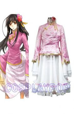 Hetalia Taiwan Costume for Cosplay [C20068] - $78.00 : Shop Cheap Cosplay Costumes Online From Cosplaypop.com
