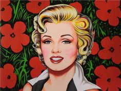 Antonio de Felipe - Kiss for Marilyn amarilla - 2003 (Nouveau Pop)