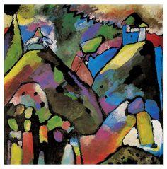 Improvisation 9 - Wassily Kandinsky - WikiArt.org - encyclopedia of ...