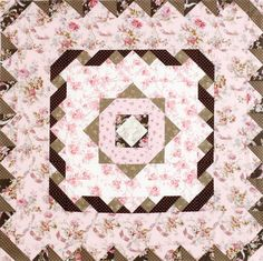 QM staff challenge Quilts from Quiltmaker's 100 Blocks featuring fabrics from Incense & Peppermints by Robyn Pandolph