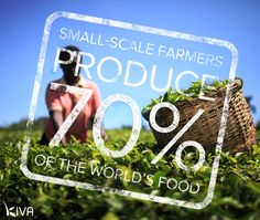 #DidYouKnow 2.8 billion people rely on #agriculture for their livelihoods? Help our friends @kivaorg reach their goal to fund 500 farmers in 5 days & make a world of difference in their lives: kiva.org/farmers #FairTrade #farmers #fundfarmers