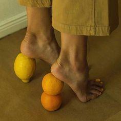 Morning Mood 🍊 * * * * * * * * by Didi Creative Photography, Portrait Photography, Fashion Photography, Yellow Photography, People Photography, Viviane Sassen, Orange Shoes, Foto Art, Mellow Yellow