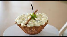 Crunchy Apple Pie – Bruno Albouze Almond Recipes, Pie Recipes, Vanilla Ganache, Nutella, Biscuits, Sugar Dough, Hazelnut Praline, Melting White Chocolate, Cheer Snacks