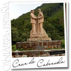 El Mirador Cruz de Cabezuela está a 1.140 metros de altitud sobre un collado entre los valles de Polaciones y de Liébana. Una maravilla de naturaleza... no hay duda... es Cantabria.