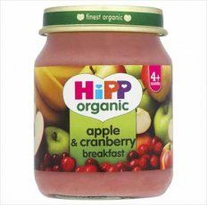 Hipp 4 Month Organic Apple  Cranberry Breakfast 125g ** Check out the image by visiting the link.Note:It is affiliate link to Amazon.