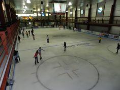 La Pista de Hielo de Fundidora, abierta para el público en general.  Nos encanta el patinaje sobre hielo - La Nevera Pista de Hielo, Majadahonda, Madrid