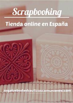 Scrapbooking. Tienda online en España