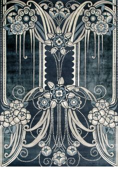 Catherine Martin rugs BLACK PEARL We love this at LILY Magazine. Get the Gatsby…