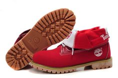 get cheap red timberland boots for women