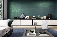 Wallcoverings   Wall coverings   Luminescent   Vega   Élitis. Check it out on Architonic