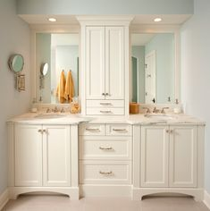 Don't melt before you get your makeup on!  LED lighting will keep your vanity area bright without the added heat.