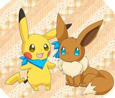 pokemon mystery dungeon pikachu y eevee