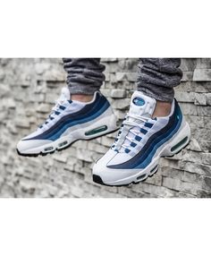 Buy Nike Air Max 95 OG Slate White Gradient Blue On Sale