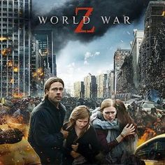 World War Z Gets 1-Week IMAX 3D Engagement Starting August 2nd -- Director Marc Forster's zombie thriller has been re-mastered in the IMAX 3D format for this exclusive theatrical event. -- http://wtch.it/X5HcW