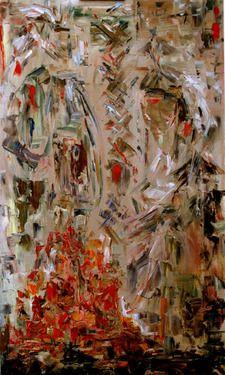 Saatchi Online Artist Alexandra Kraeva ; Painting, Ioskeha & Tawiscara