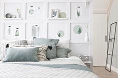 KARWEI| Aflevering 4: De vakkenwand maak je eenvoudig zelf! #karwei #vtwonen #diy #doehetzelf #slaapkamer