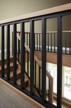 Modern stairs - Stairs maker Lauwers makes custom stairs - . - Modern stairs – Stairs maker Lauwers makes custom stairs – - Stairway Railing Ideas, Interior Stair Railing, Modern Stair Railing, Staircase Handrail, Stair Railing Design, Staircase Remodel, Metal Stairs, Modern Stairs, Banisters