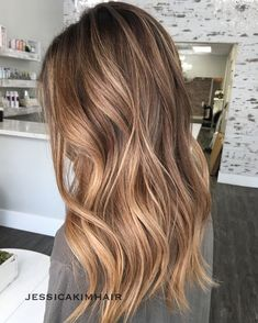 Long Wavy Ash-Brown Balayage - 20 Light Brown Hair Color Ideas for Your New Look - The Trending Hairstyle Balayage Hair Blonde, Brown Blonde Hair, Light Brown Hair, Brunette Hair, Brownish Blonde Hair Color, Dark Blonde Ombre, Baliage Hair, Fall Blonde, Bronde Hair