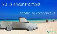 Tú también piérdete en las playas del #CaribeMexicano :) Entonces... ¿Nos vamos en la pick up?