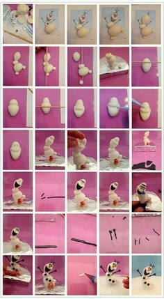 Image Tutorial Making Olaf Frozen