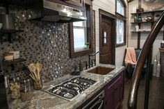 This is a Tudor-style Fairytale tiny house on wheels built by Tiny Heirloom and featured on a recent episode of Tiny Luxury on HGTV's DIY Network and you're welcome to come check it out and learn more about it inside! Tiny House Layout, Tiny House On Wheels, Tiny House Design, House Layouts, Casa Loft, Transforming Furniture, Best Tiny House, Wall Exterior, Tudor House