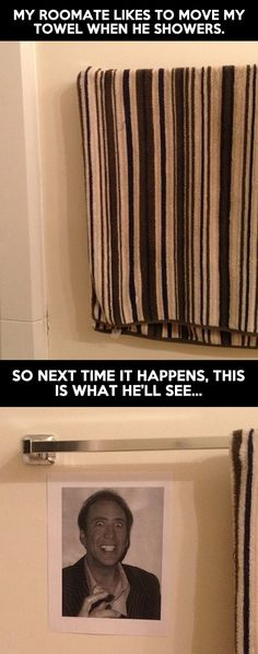 Nicholas Cage prank. These NEVER get old. Bwahaha!