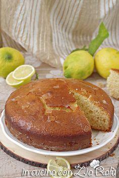 Torta ai limoni all'olio - In cucina con Zia Ralù Italian Foods, Italian Recipes, Zia, Hamburger, Bread, Group, Sugar, Brot, Baking