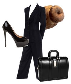 """Manager"" by the-minky on Polyvore featuring Yves Saint Laurent and McKleinUSA"
