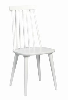 Rowico Lotta- pinnatuoli, Valkoinen. Chair, House Styles, Interior, Furniture, Vit, Home Decor, Home Goods, Dinner Table, Living Room