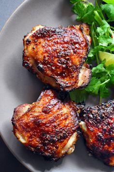Vietnamese Lemongrass Chicken. perfect for bsg night: marinate in the morning, bake at 400.