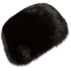 Surrell Women's Fur Bubble Hat - Black ($399) ❤ liked on Polyvore featuring accessories, hats, black, surell hats, fur hat and surell