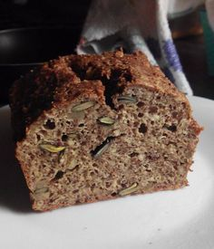 Protein Seeded Bread (Keto, Low Carb, Gluten Free)(from r/ketorecipes) Ingredients • 250 g full fat quark / soft cheese • 4 small eggs • 70 g ground almonds/hazelnuts/walnuts (I used almonds) • 70 g milled linseed • ½ tsp baking powder • ½ tsp baking...