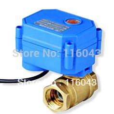 34.38$  Watch here - http://alimvv.shopchina.info/1/go.php?t=688893142 - actuator with two way 1/2'' valve A220V ,3 wires or normal colsed wires can be choice for water control  systems 34.38$ #buyininternet