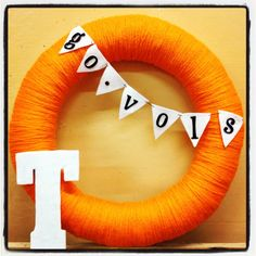 University of Tennessee Go Vols Wreath