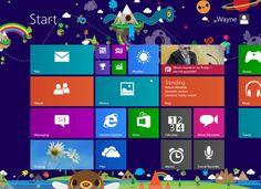 Windows 8 Desktop Screenshot - Google Images