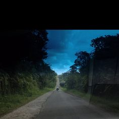 Road to Simpang Ampek, in Bawan, Agam district, West Sumatera