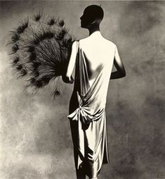 "Madeleine Vionnet dress, ""Inventive Paris Clothes 1909-1939""  by Irving Penn  and Diana Vreeland"