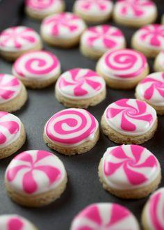 Peppermint Candy Sugar Cookies. Image Via: Bakerella