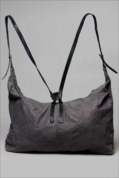 truand leather sandwich bag /  isaac sellam / layerslondon.com