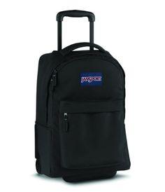Jansport Superbreak Wheeled Backpack (Black) JanSport http   www.amazon. 04422b061b092