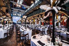 Veilinghal verandert in ballroom uit de jaren '20 | Auction hall turns into a ballroom in 'Golden Twenties' theme | #event