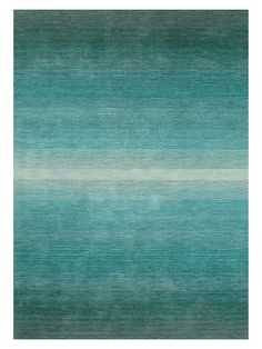 NEW Graduated Teal Rug, L 240 x W 170cm £550