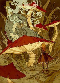 Alice in Wonderland by Abigail Larson *