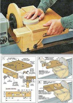 Circle Sanding Jig - Sanding Tips, Jigs and Techniques | WoodArchivist.com