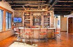 bar designs with corrigated steel - Google Search