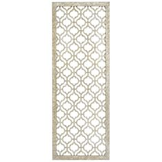 This is no garden-variety trellis. Sleek and sophisticated, our silvery…